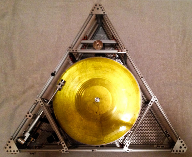 Jack White space turntable