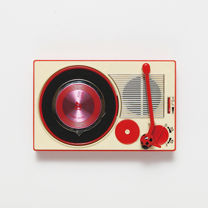 Portable record player - tiny