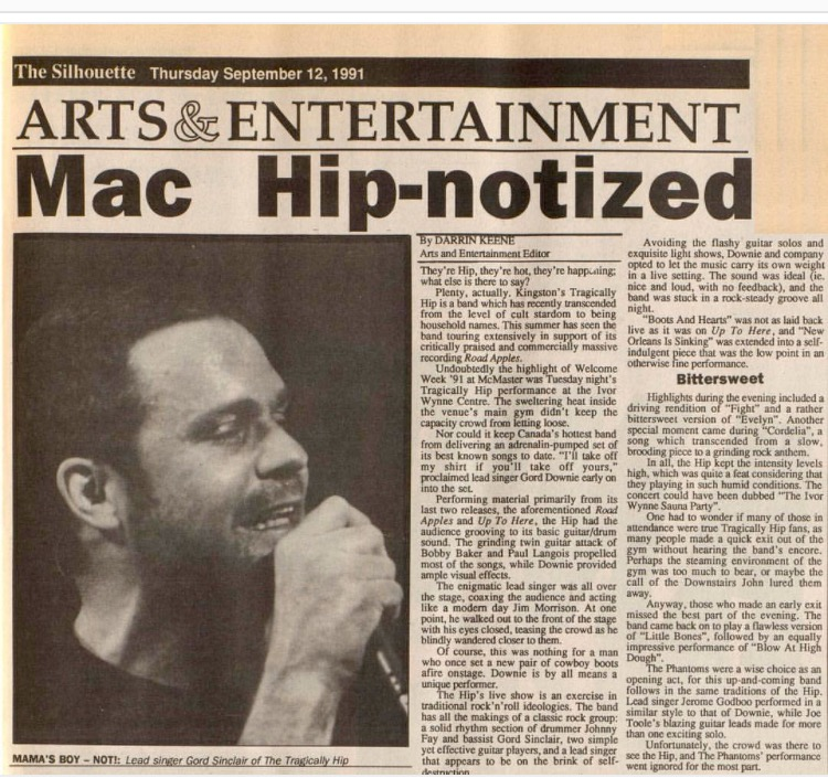Hip Review 1991