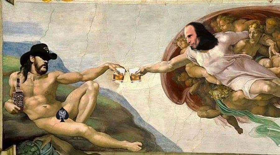 Lemmy and RJD in Heaven