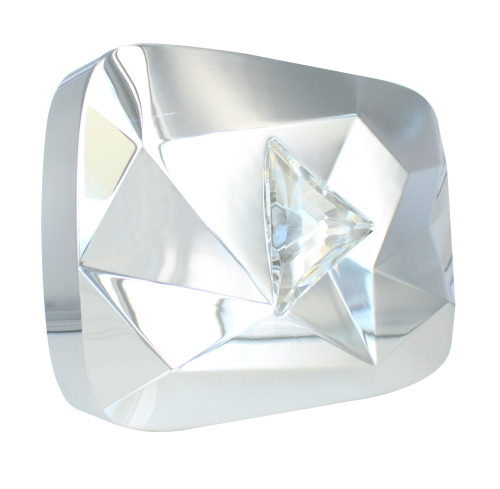 Is the YouTube diamond play button made of diamond ...