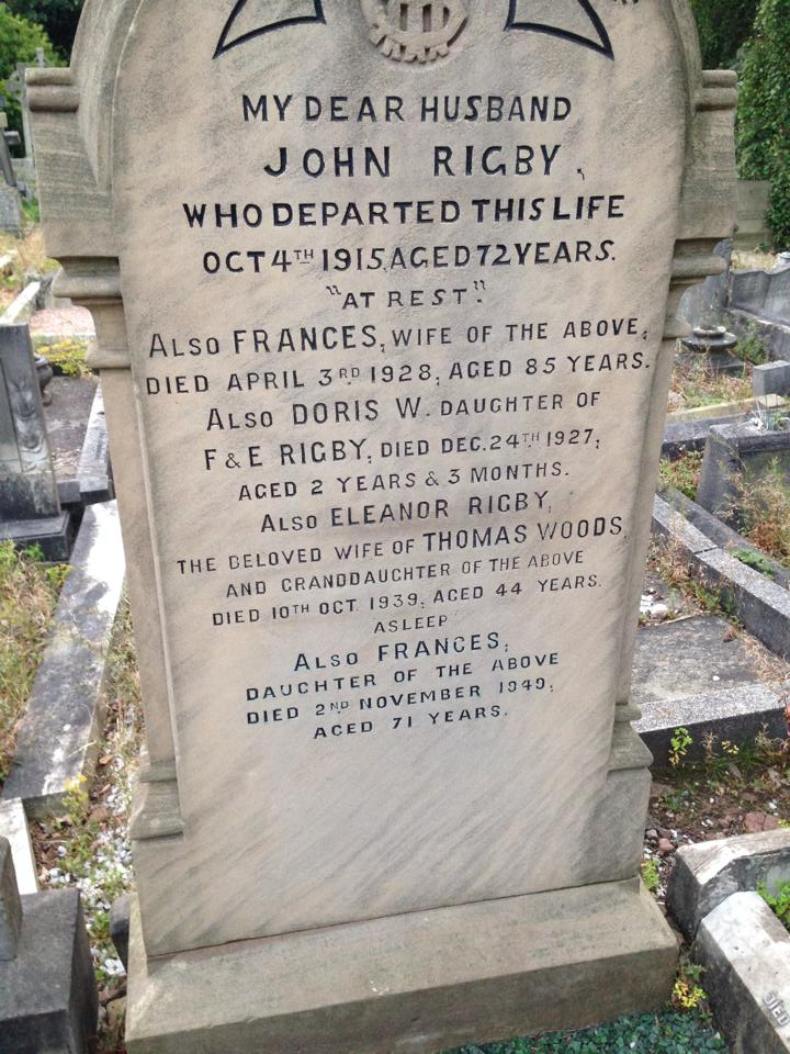Are You A Beatles Fan Want To Buy Eleanor Rigby S Grave It S For Sale A Journal Of Musical Things