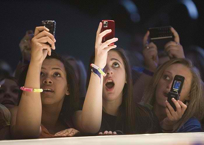 Concert Cell Phones