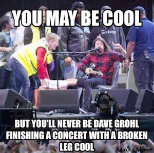 Dave Grohl cool