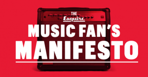 Esquire - Muisc Fan Manifesto