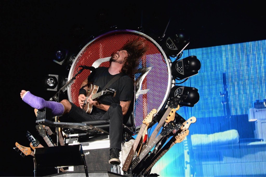 Foo Fighters - Dave Grohl 04 July 2015 1