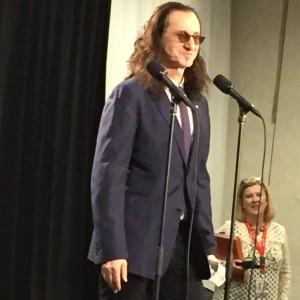 Geddy Lee at Junos