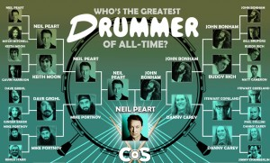Greatest drummers (CoS)