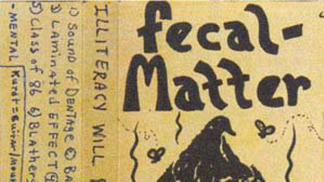 Kurt Cobain - Fecal Matter tape