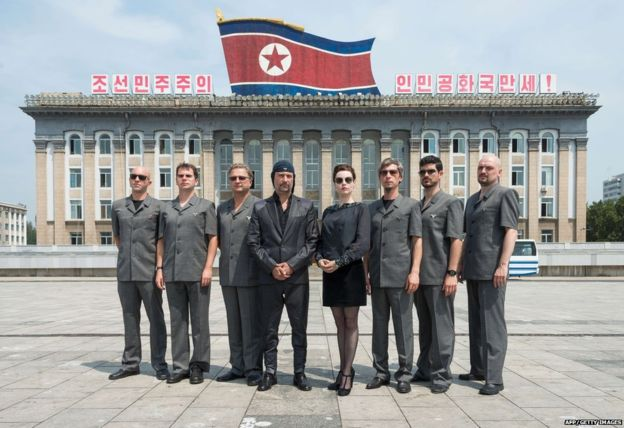 Laibach in DPRK 1