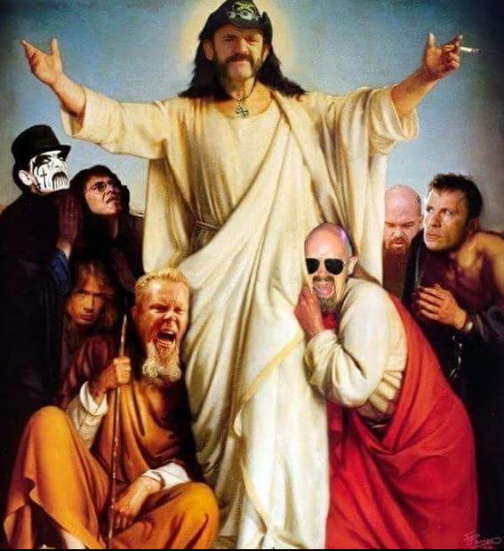 Lemmy as God