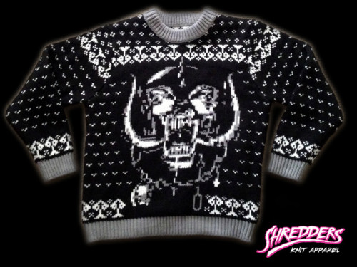 a journal of musical thingshow about an ugly motorhead - Black Metal Christmas Sweater
