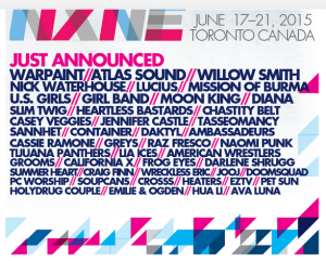 NXNE 2nd announcement