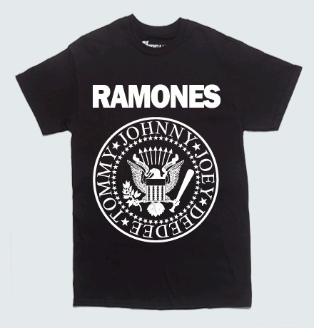 May 01,  · This black T-shirt has a front screen featuring the Ramones seal logo. % pre-shrunk cotton Wash cold; dry medium Imported Available in men's sizes A Hot Topic exclusive! This black T-shirt has a front screen featuring the Ramones seal logo/5(16).