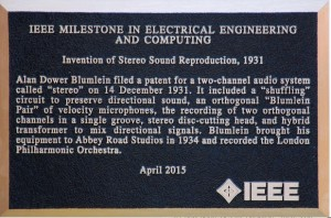 Stereo invention plaque copy