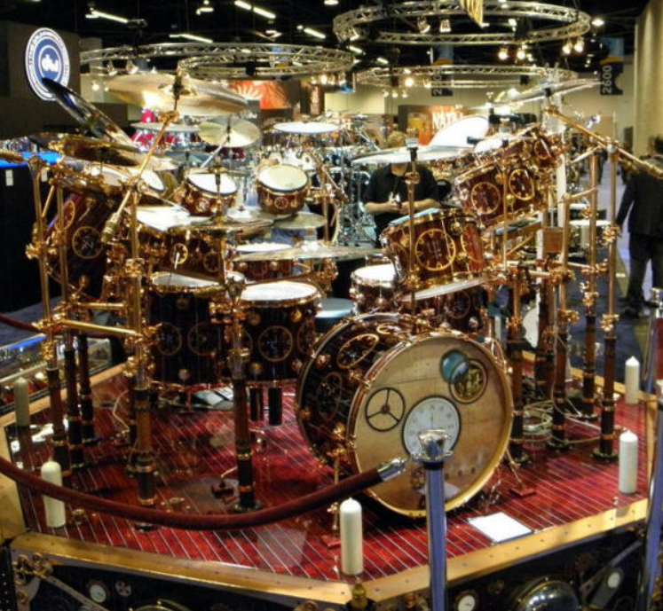 a journal of musical thingsdrummer 39 s porn neil peart 39 s time machine drum kit a journal of. Black Bedroom Furniture Sets. Home Design Ideas
